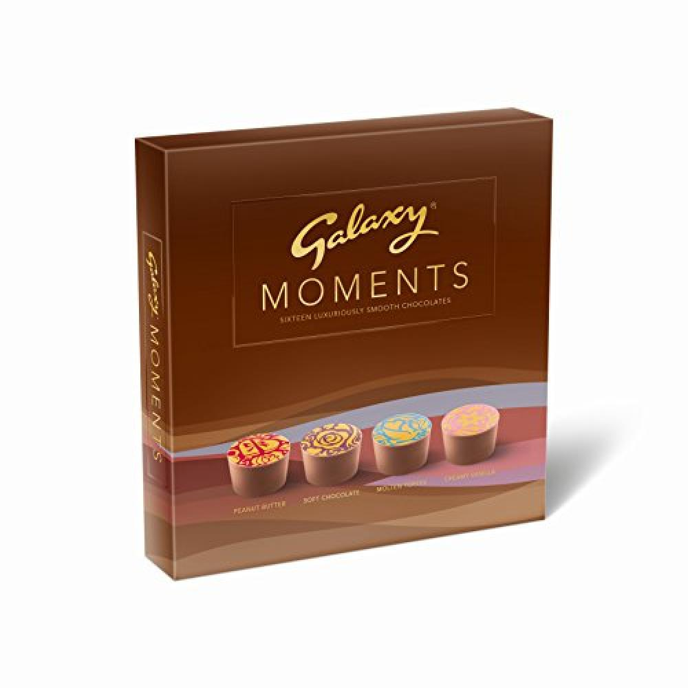 Galaxy Moments Smooth Milk Chocolates 171g