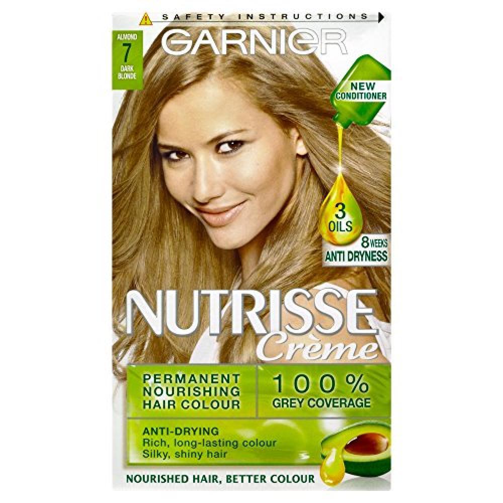 Garnier Nutrisse 7 Dark Blonde Permanent Hair Dye