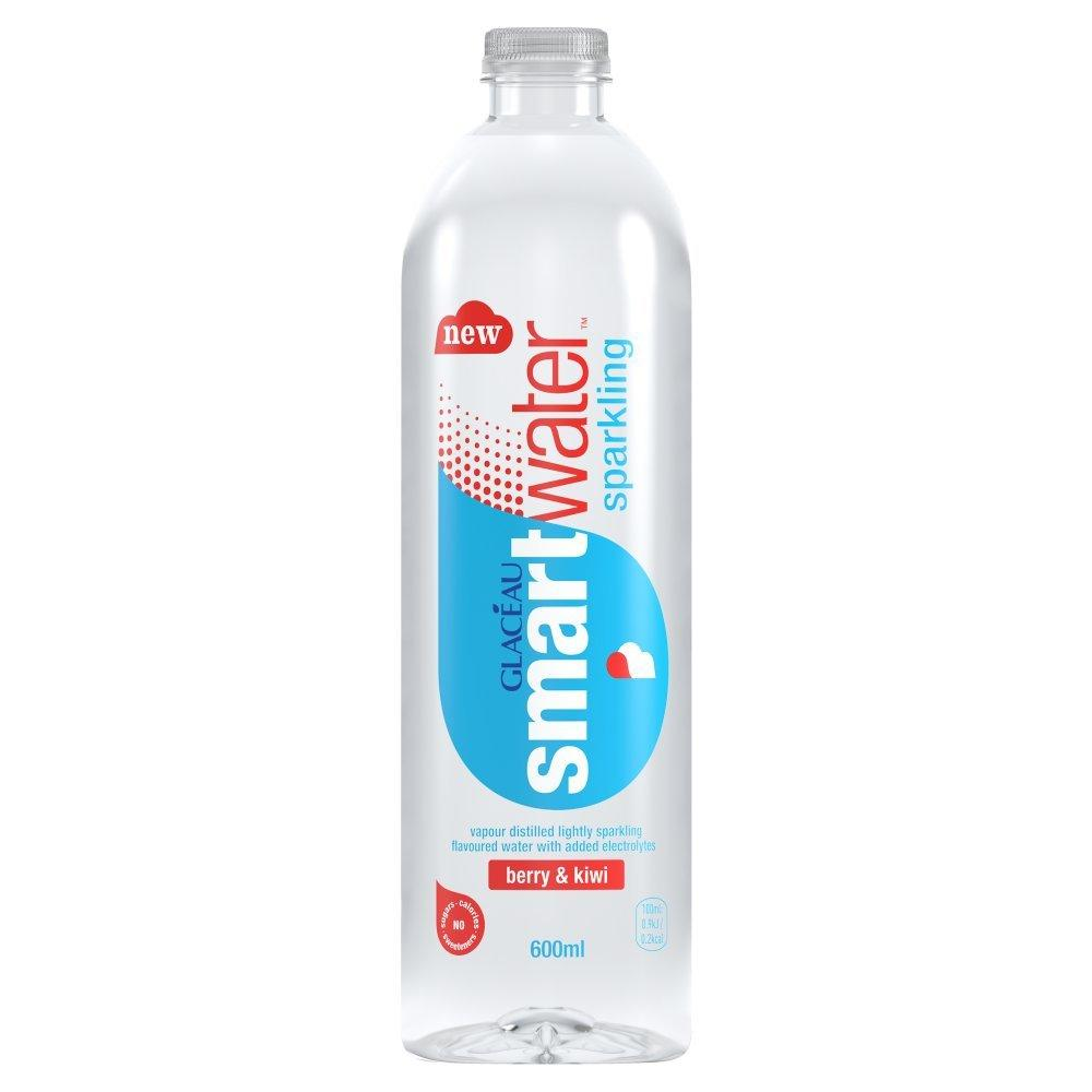 Glaceau Smart Water Sparkling Berry and Kiwi 600ml