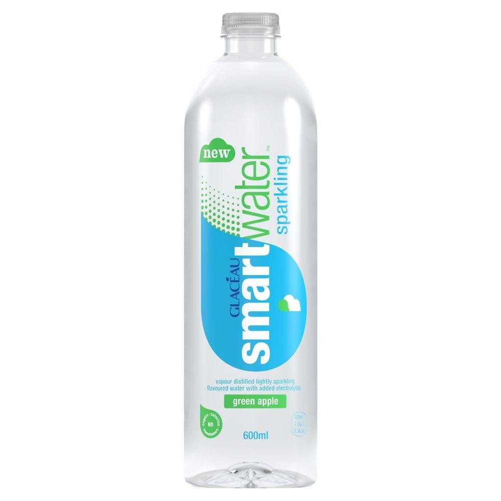 Glaceau Smart Water Sparkling Green Apple 600ml