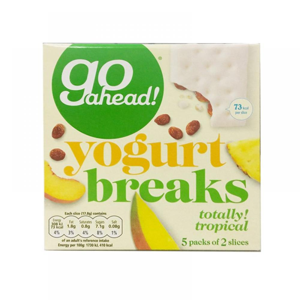 Go Ahead Yogurt Breaks Tropical Fruit 178g 5 pack