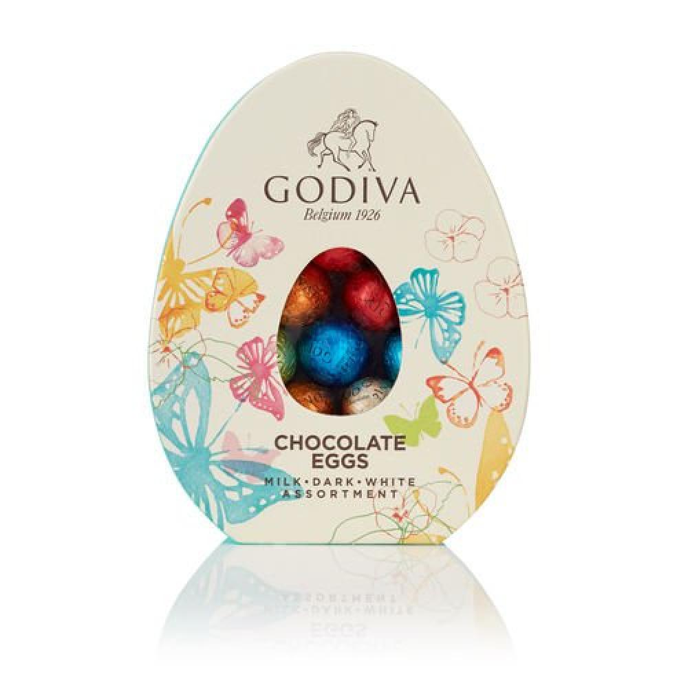 Godiva Assorted Chocolate mini Easter Eggs Box 200g