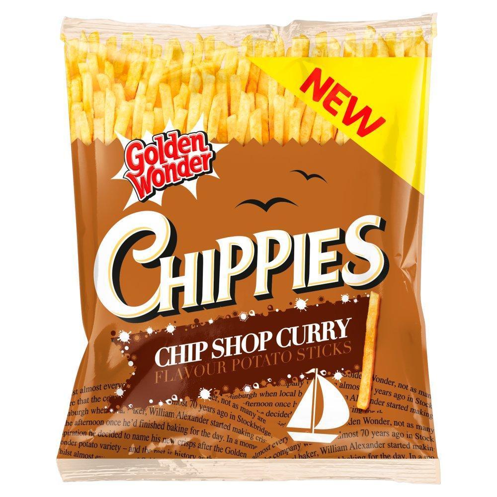 Golden Wonder Chippies Chip Shop Curry 45g