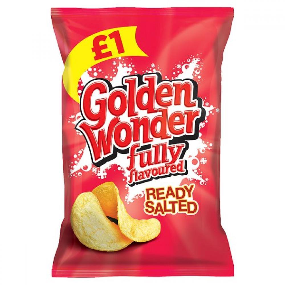 Golden Wonder Ready Salted 100g