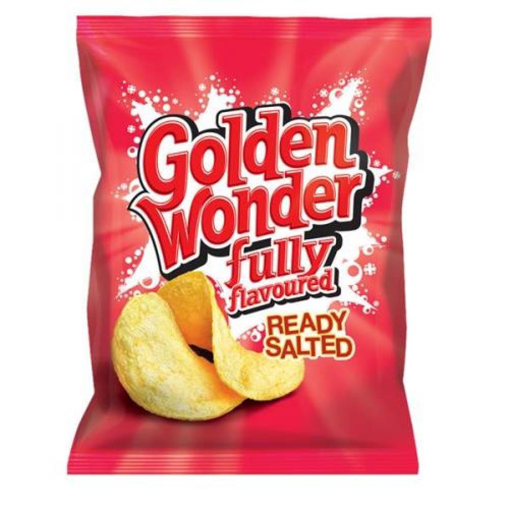 Golden Wonder Ready Salted 32.5g