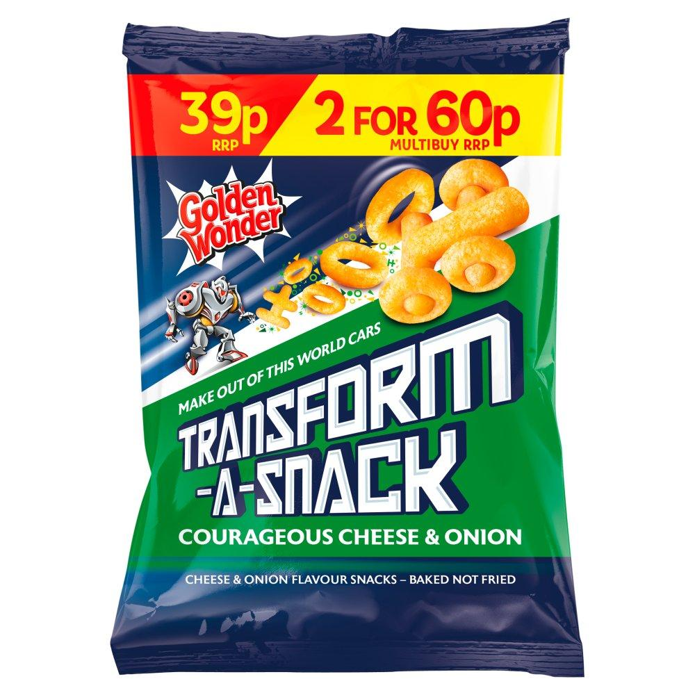 Golden Wonder Transform a Snack Cheese and Onion Flavour 30g