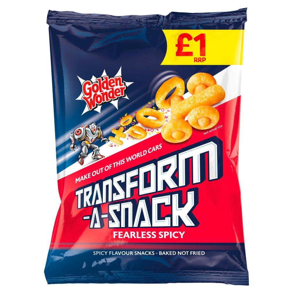 Golden Wonder Transform a Snack Spicy Flavour 90g
