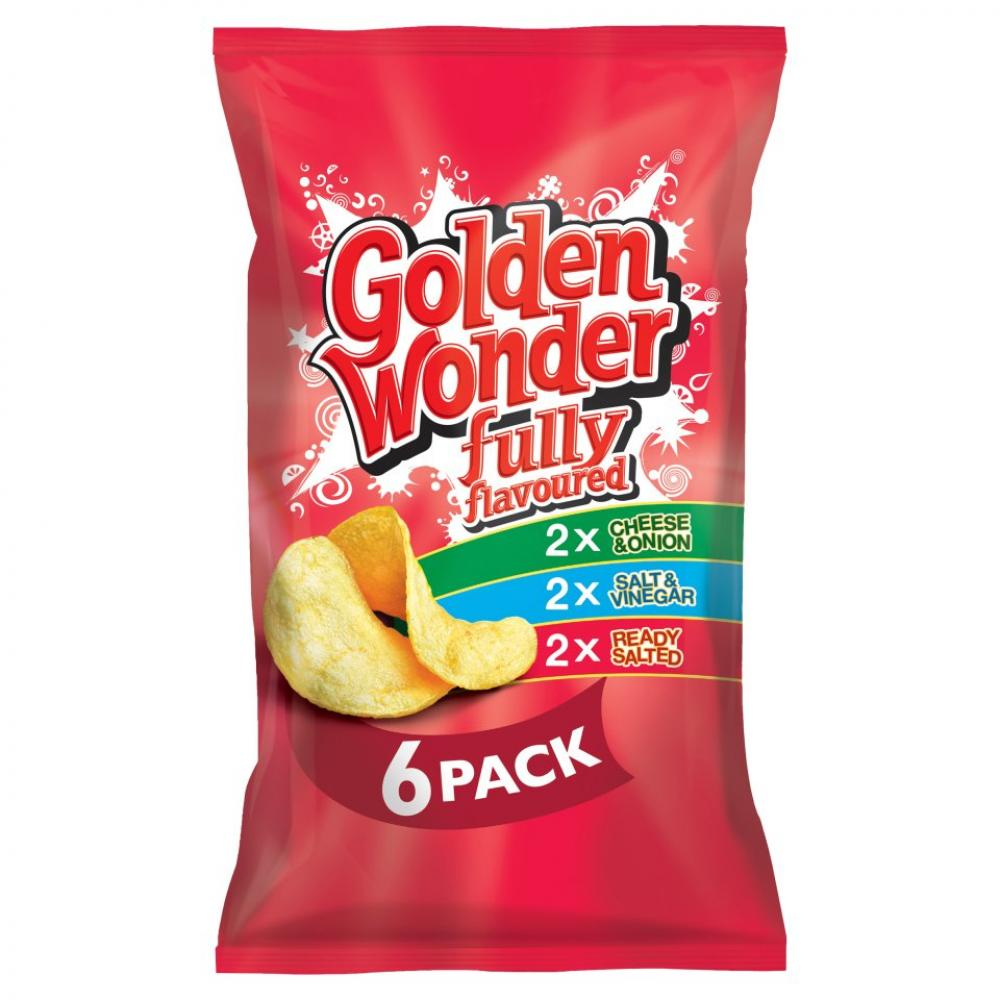 Golden Wonder Variety Pack 25g x 6