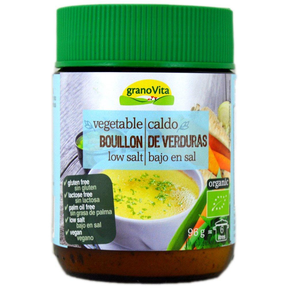 Grano Vita Vegetable Bouillon Low Salt 96g