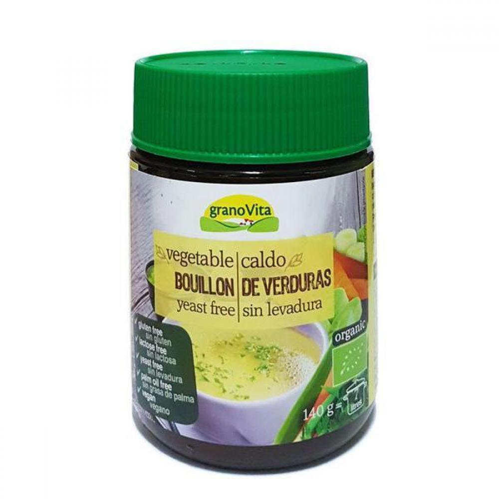 Grano Vita Vegetable Bouillon Yeast Free 140g