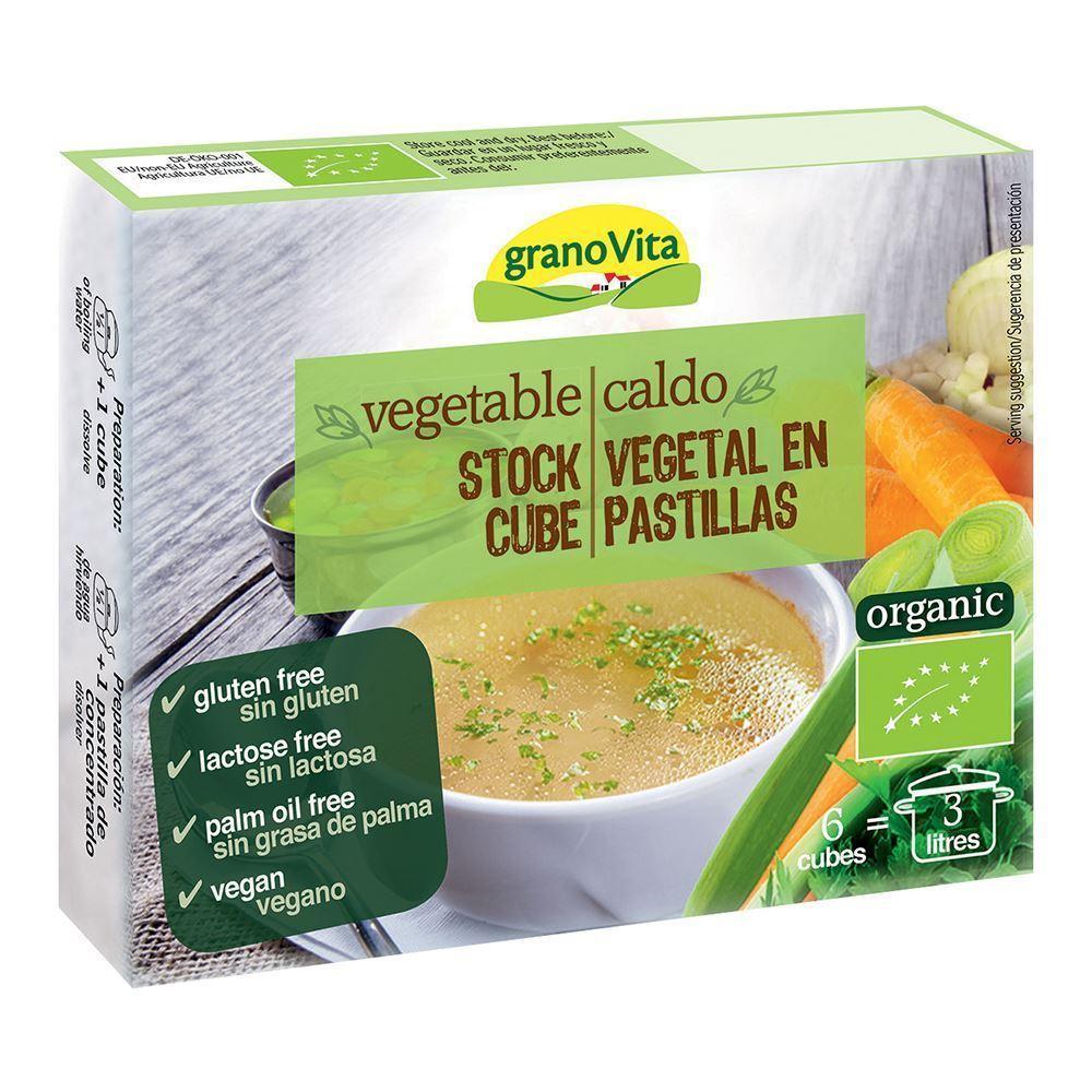 Grano Vita Vegetable Stock Cubes 66g