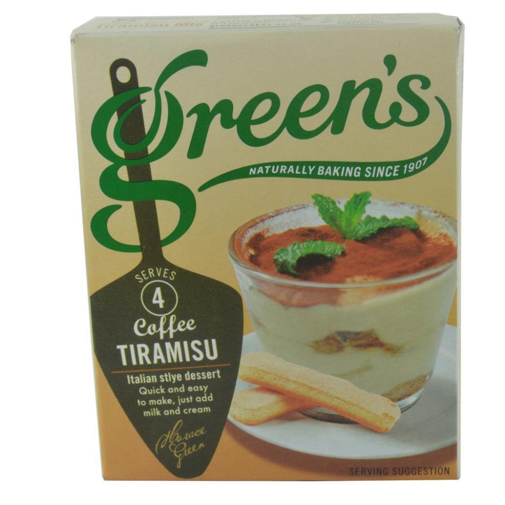 Greens Coffee Tiramisu 70g