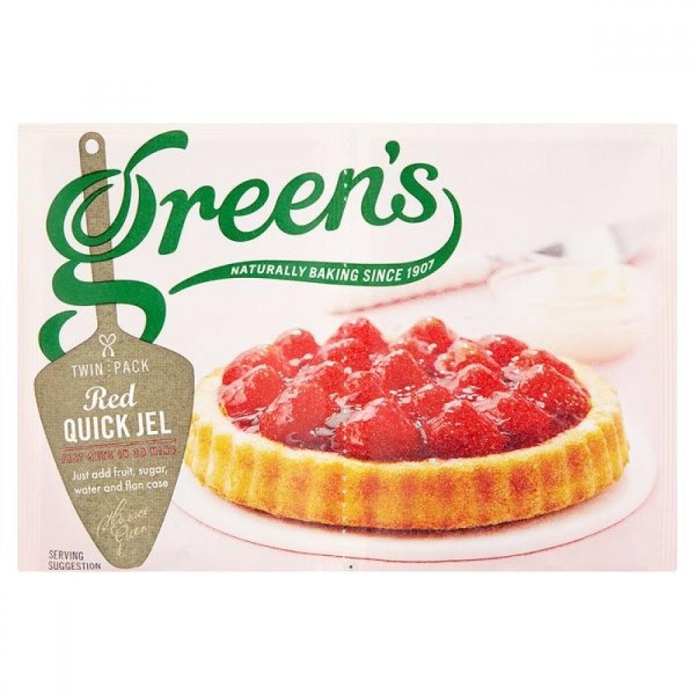 Greens Red Quick Jel 70g
