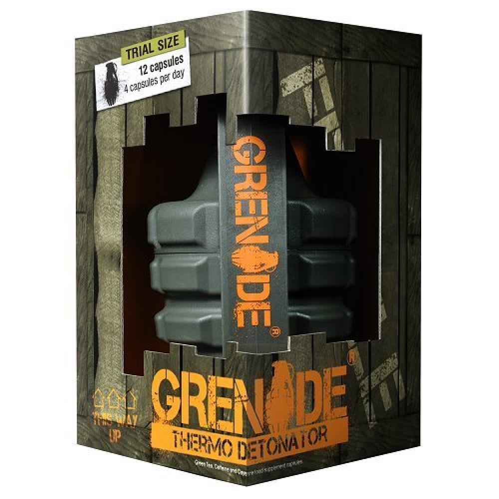 Grenade Thermo Detonator Weight Management Supplement Trial size 12 capsules