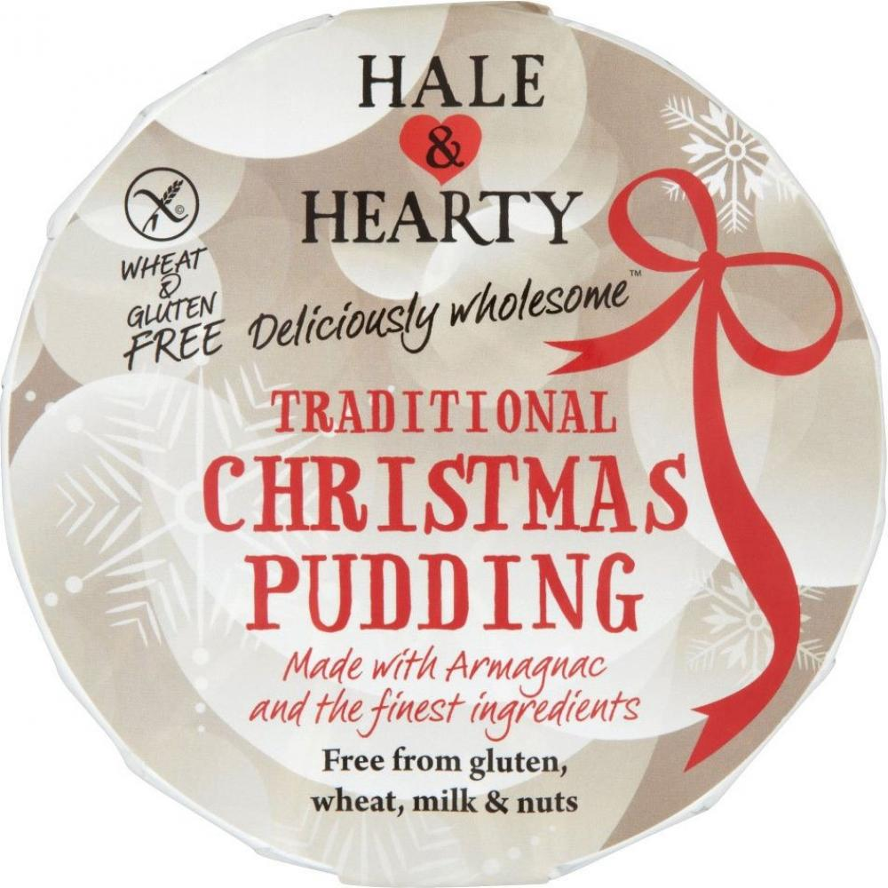 Hale and Hearty Gluten Wheat and Dairy Free Christmas Pudding