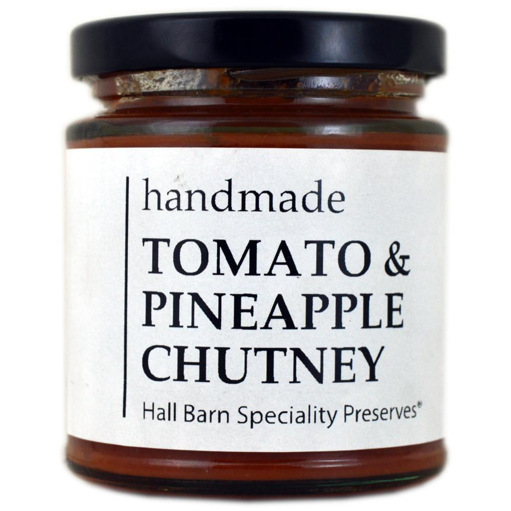 Hall Barn Speciality Preserves Tomato and Pineapple Chutney 175g