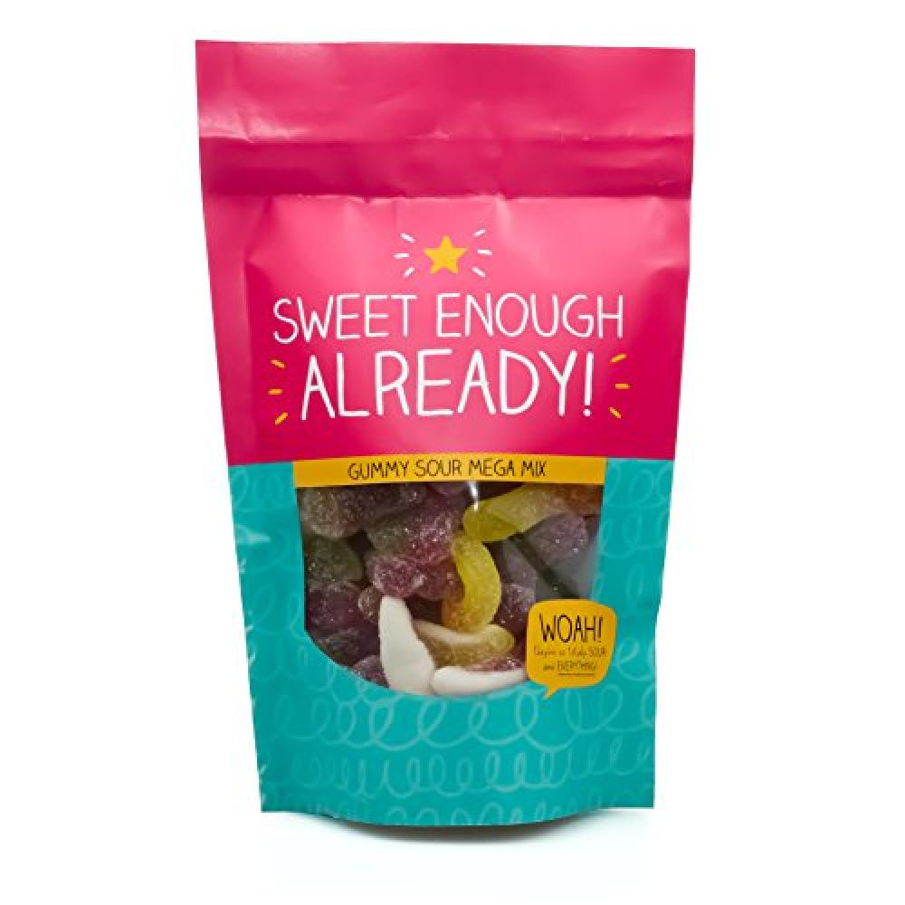 Happy Jackson Sweet Enough Sour Gummy Mega Mix 180g