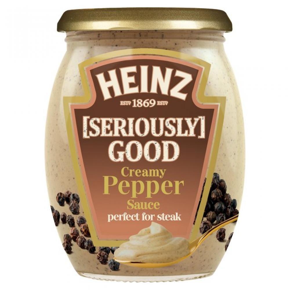 Heinz Seriously Good Creamy Pepper Sauce 260g