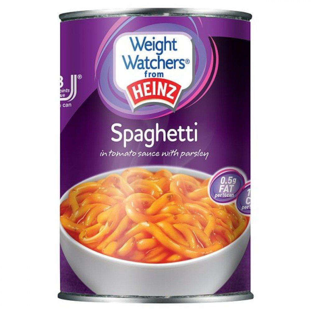 Heinz Weight Watchers Spaghetti in Tomato Sauce with Parsley 400g