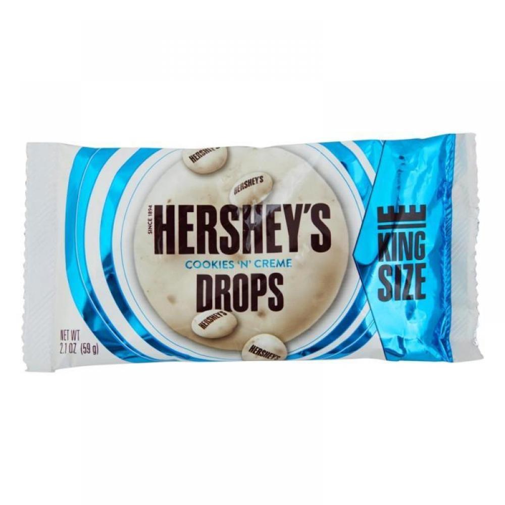 Hersheys Cookies n Creme Drop King Size 59g