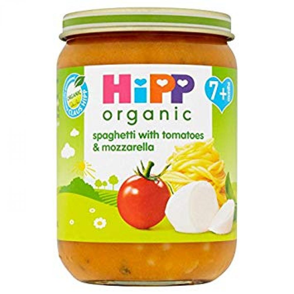 HiPP Organic Stage 2 From 7 Months Spaghetti with Tomatoes and Mozzarella 190g