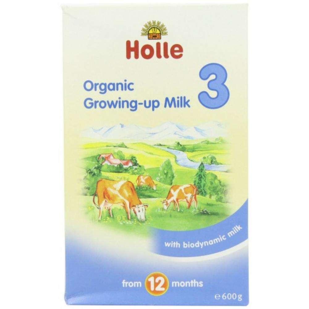 Holle Organic Growing Up Milk Stage 3 600g