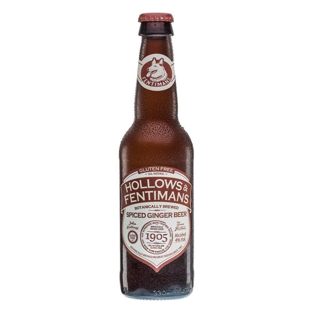 Hollows and Fentimans Spiced Ginger Beer 330ml