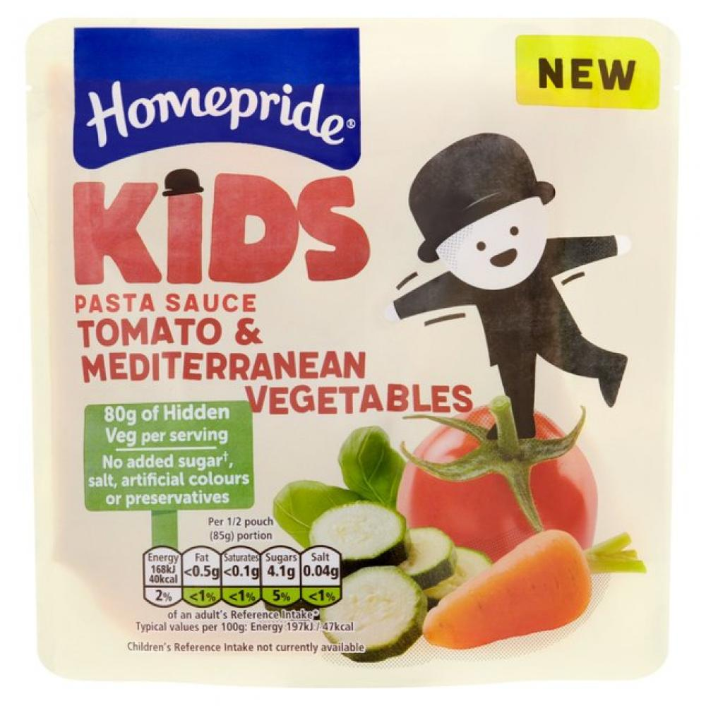 Homepride Kids Tomato and Mediterranean Vegetables Pasta Sauce 170g