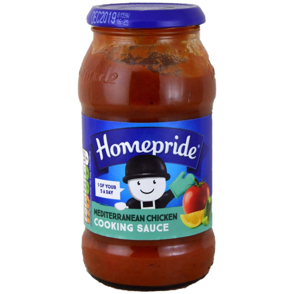 Homepride Mediterranean Chicken Cooking Sauce 485g