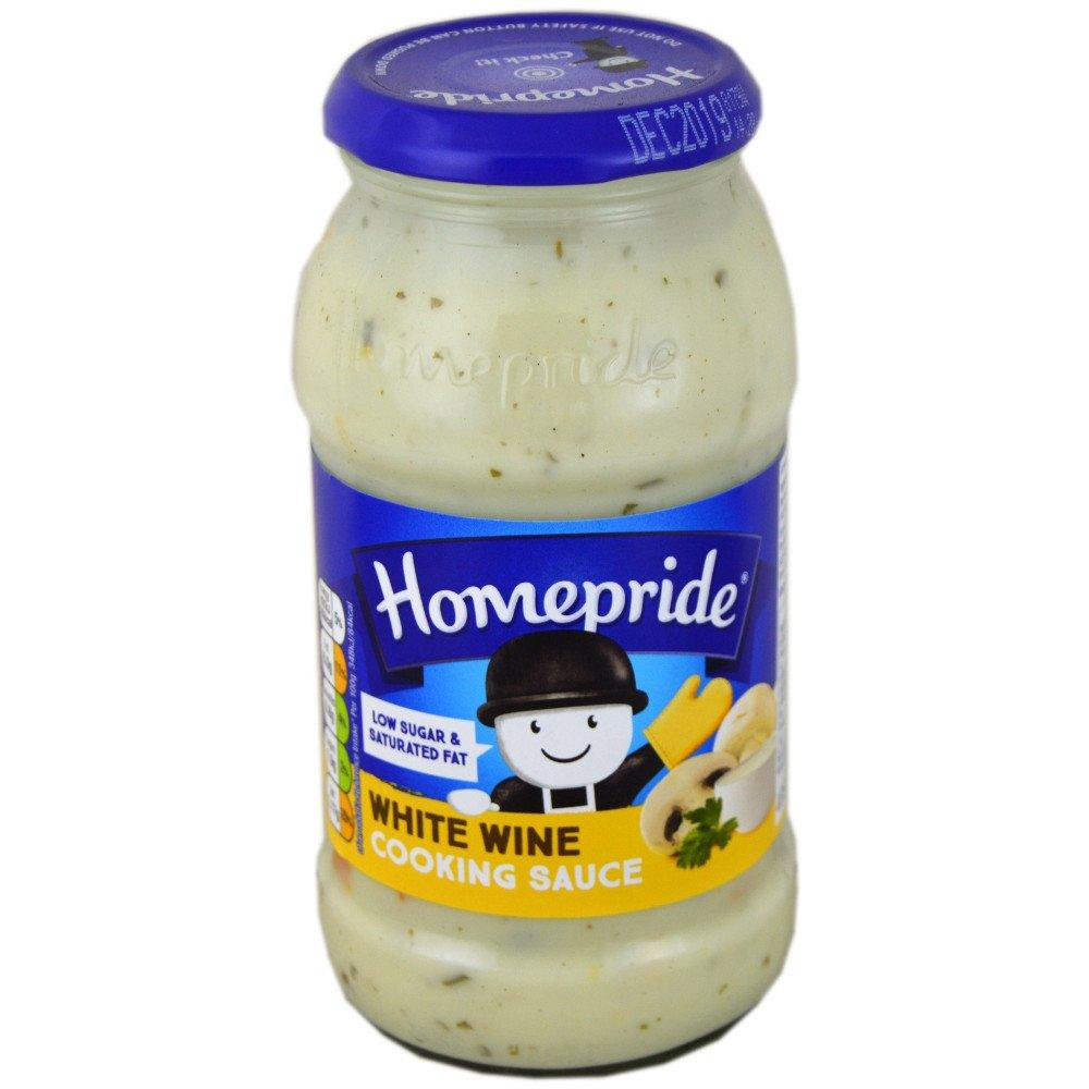 Homepride White Wine Cooking Sauce 485g