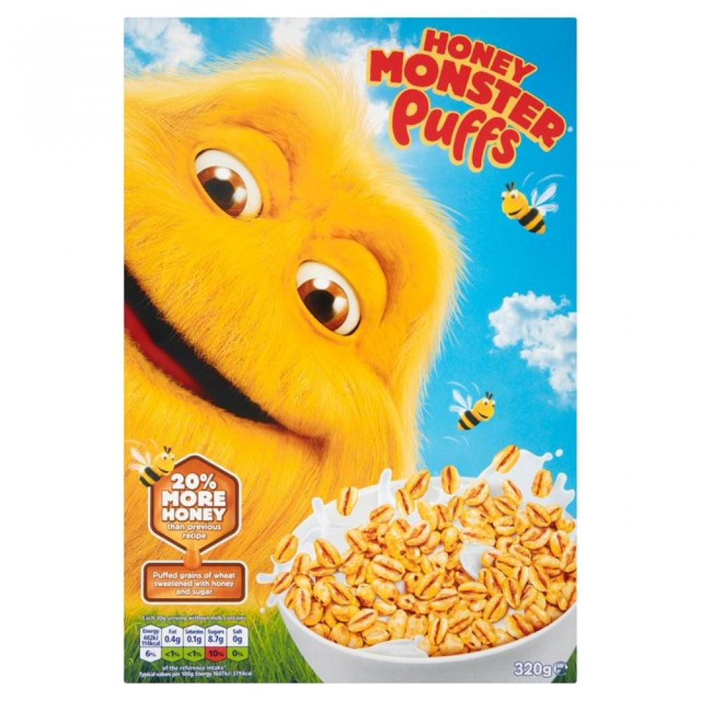 Honey Monster Puffs 320g