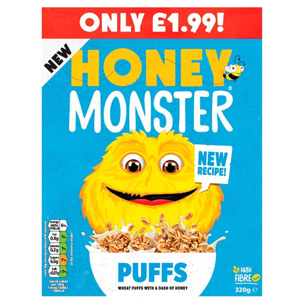 Honey Monster Puffs 320g