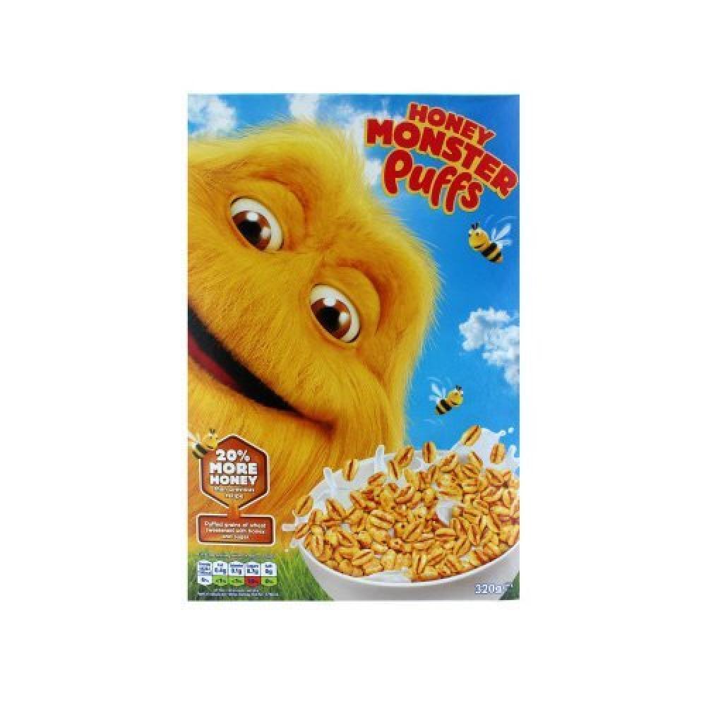 Honey Monster Sugar Puffs 320g