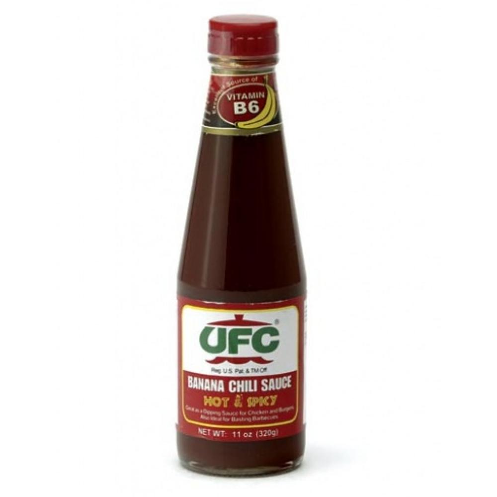 FURTHER REDUCTION  UFC Hot and Spicy Banana Chilli Sauce 320g