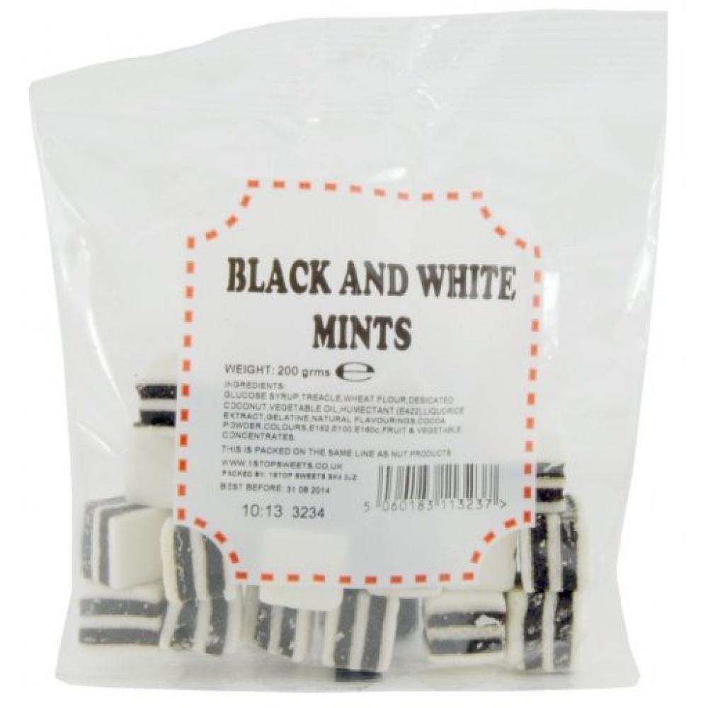 House Of Candy Black and White Mints 225g