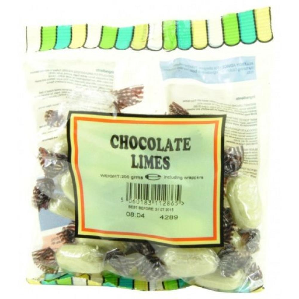 House Of Candy Chocolate Limes 200g