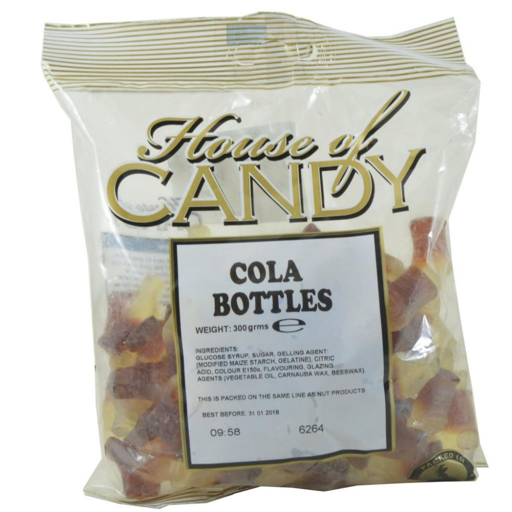 House Of Candy Cola Bottles 300g