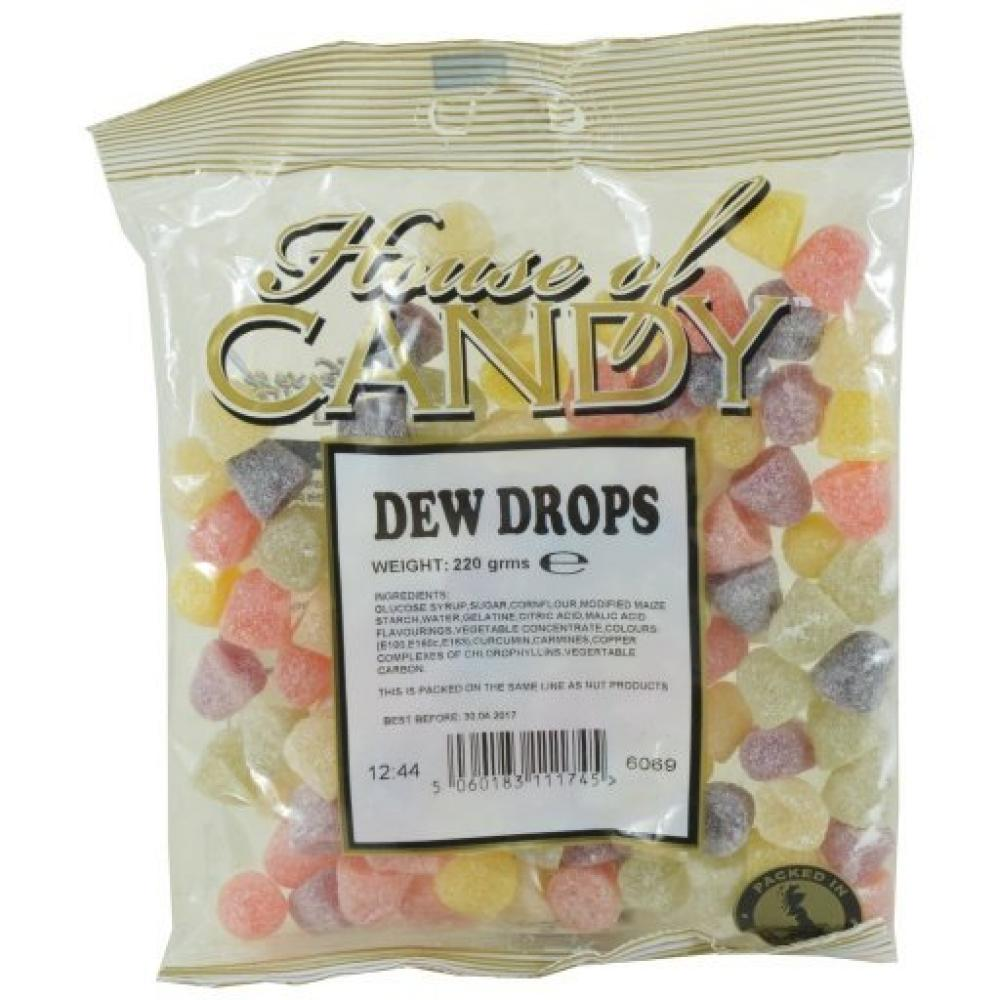 House Of Candy Dew Drops 220g