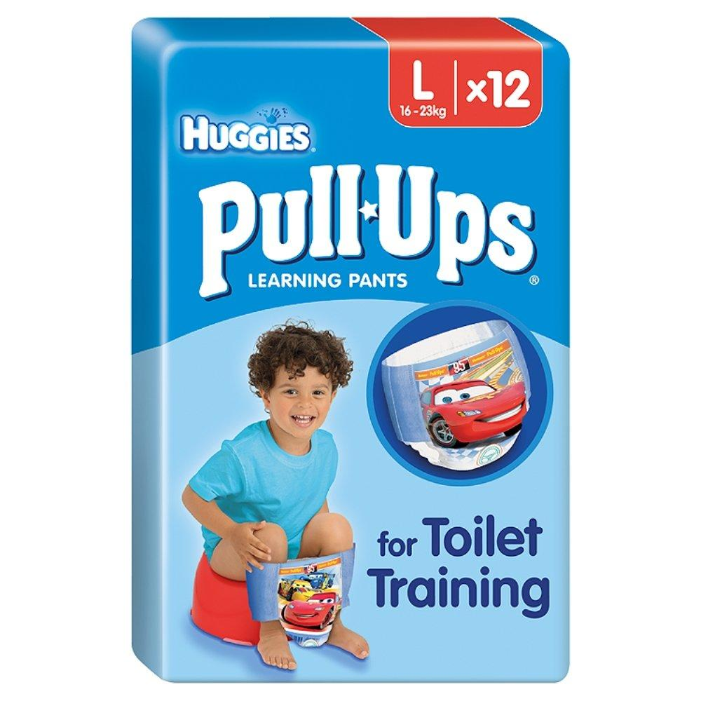 Huggies Pull Ups Learning Pants For Boys 12 Pants Large