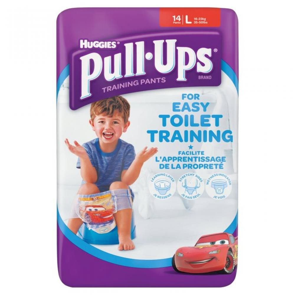 Huggies Pull Ups Training Pants Boys Large 14 Pants