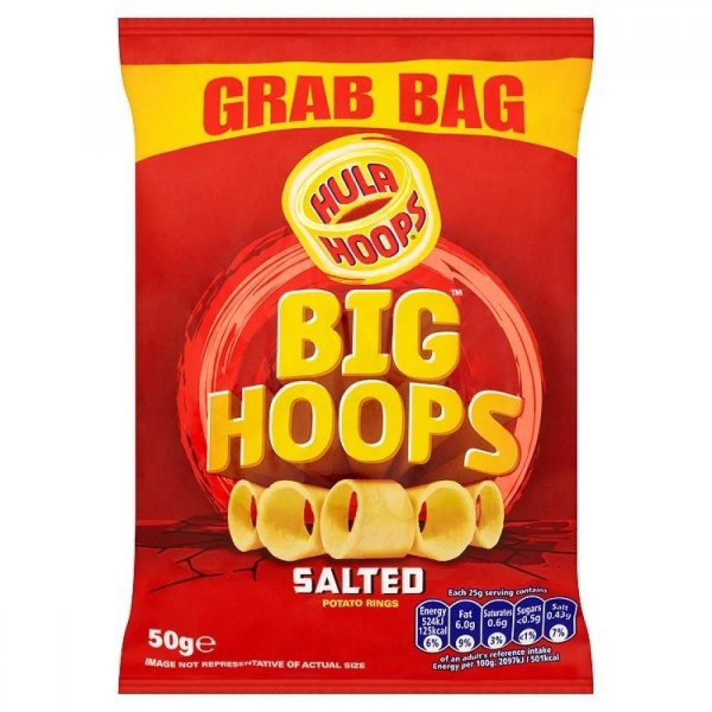 Hula Hoops Big Hoops Salted 50g