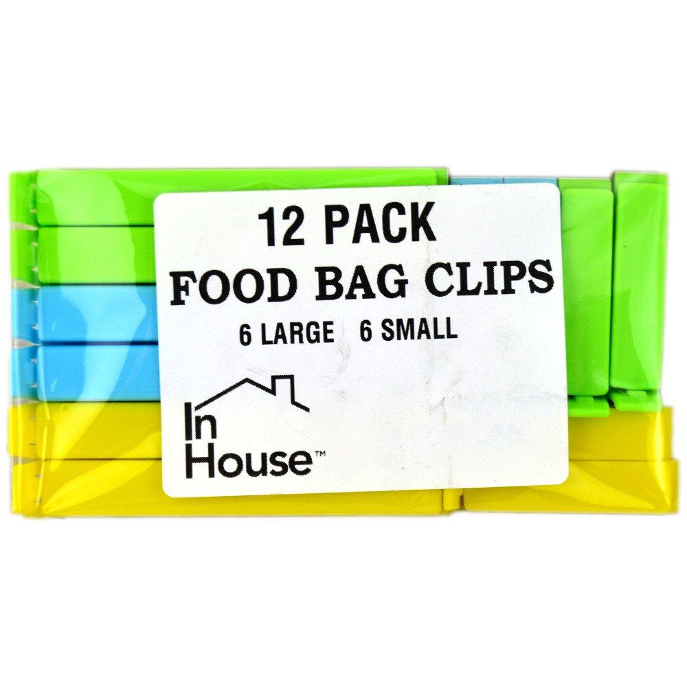 In House 12 Food Bag clips