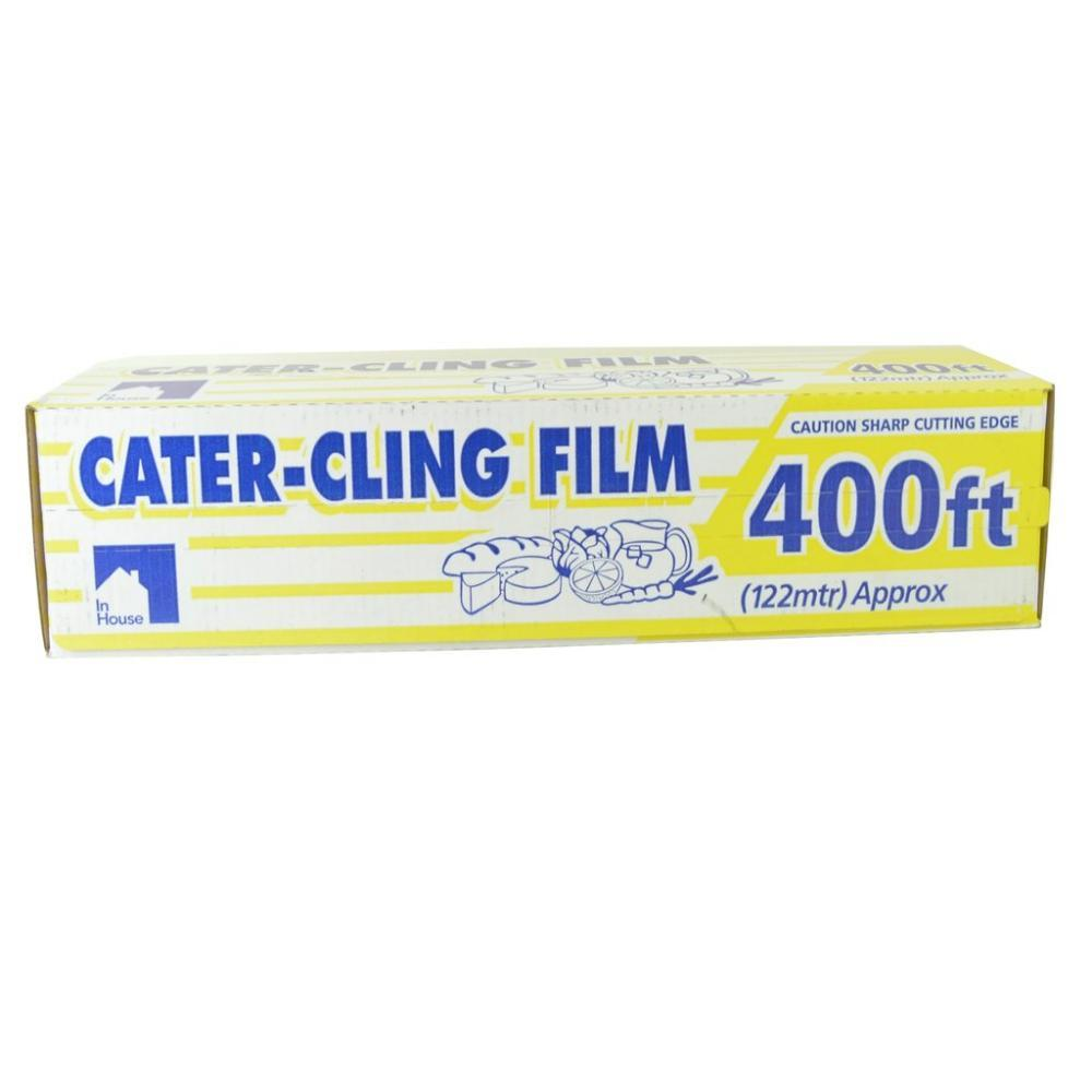 In House Cater Cling Film 400ft
