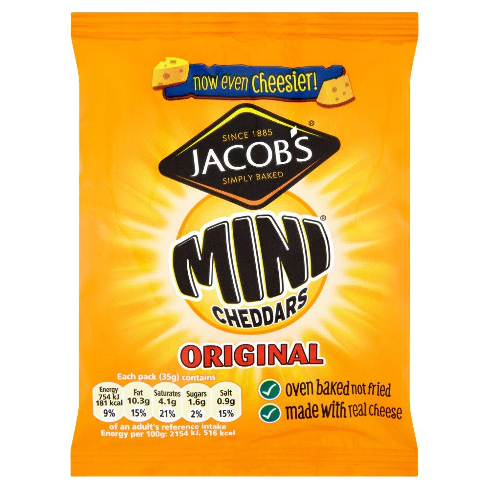 Jacobs Mini Cheddars Original 35g