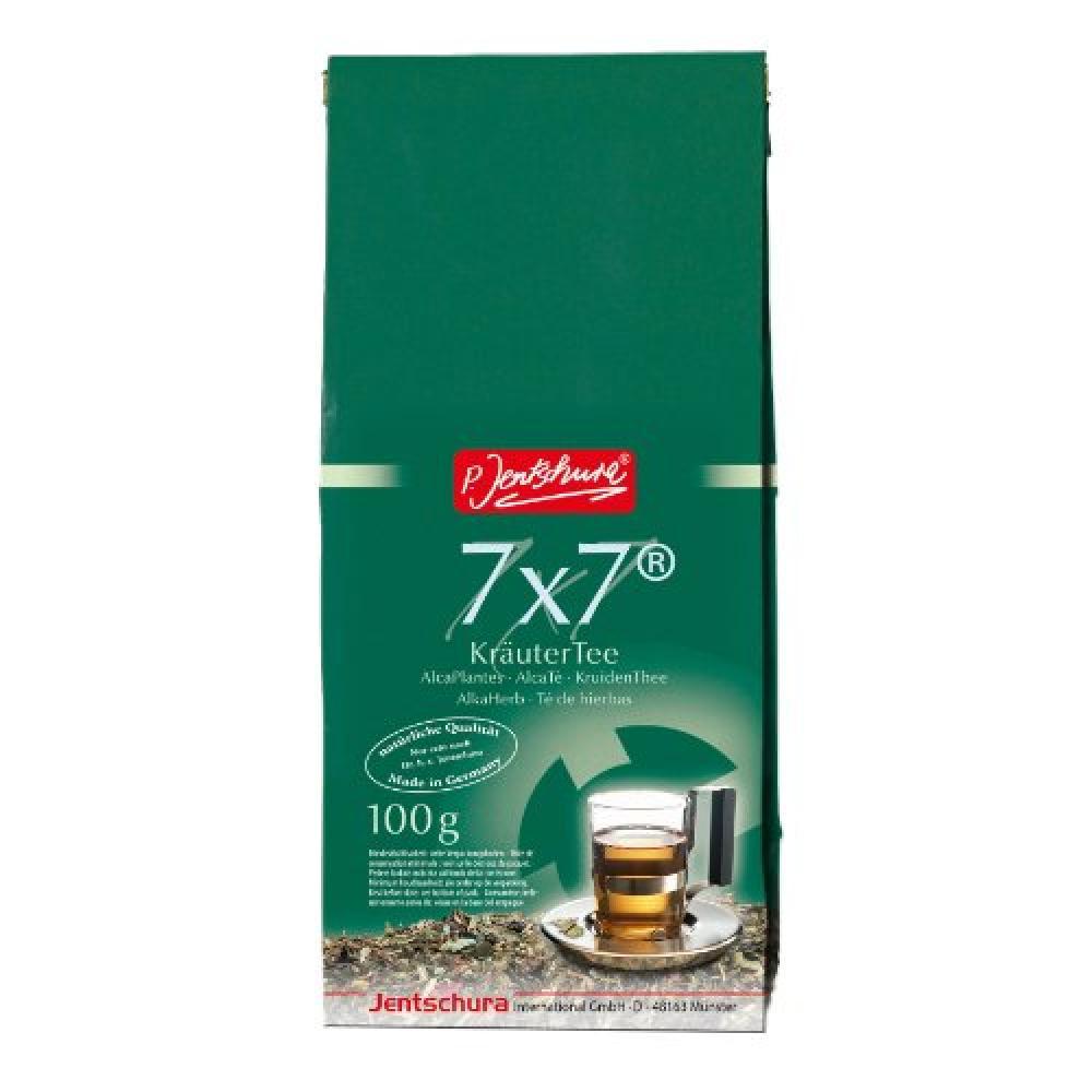 Jentschura 7 x 7 Alkaherb Herbal Tea 100 g