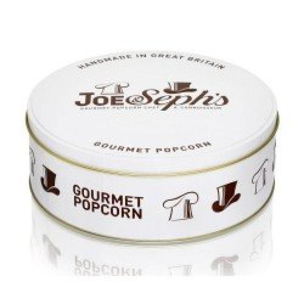 Joe and Sephs Popcorn Gift Tin 2x95g