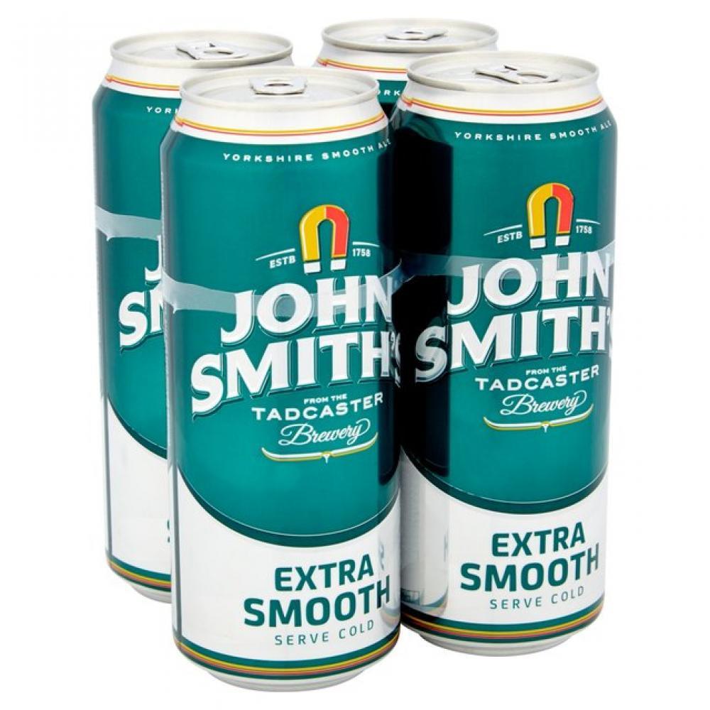 John Smiths Extra Smooth Ale 440ml x 4
