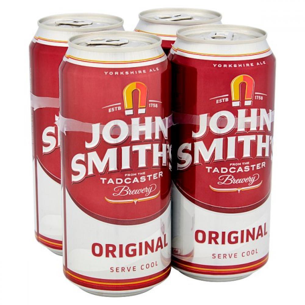 John Smiths Original Bitter Ale 440ml x 4