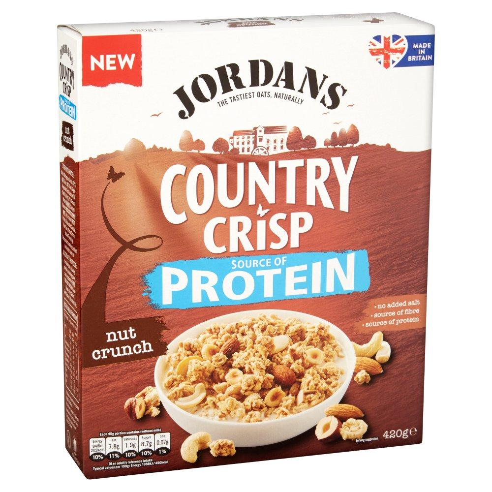 Jordans Country Crisp Protein Nut Crunch 420g