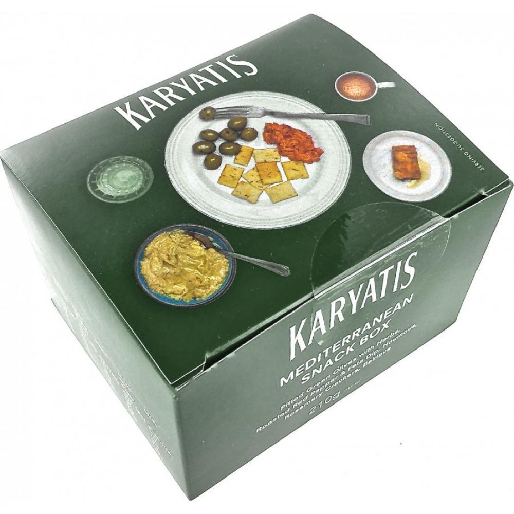 Karyatis Mediterranean Snack Box 210g
